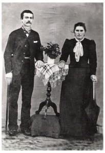 Ferdinando Dametto e Antonia Zucatti.