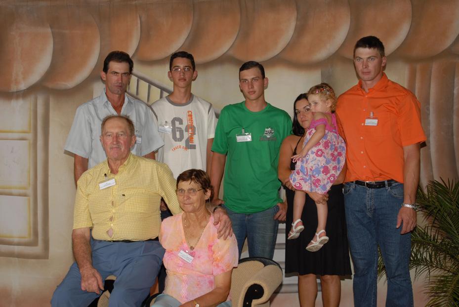 Família José Dametto (filho de Angelo Dametto).
