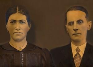 Vitoria Zanatta [conhecida como Italia] e Valentim Dametto.