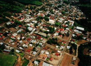 Vista aérea de Anta Gorda - RS.