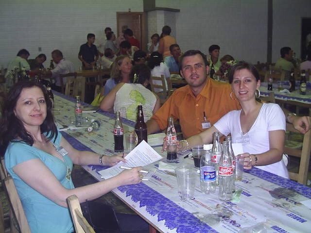 Assunta Dametto, Ricardo Roling e Liciane Roling.
