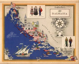 DALMAZIA [De Agostini, Giovanni; Nicouline, Vesevolod Petrovic 1890-1962] David Rumsey Historical Map Collection.