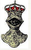 Representação de um elmo de rei ou imperador.