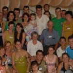 Família Angelo e Luzia Ferrari Dametto. Primeiro Encontro da Família Dametto, dia 09/02/2007.