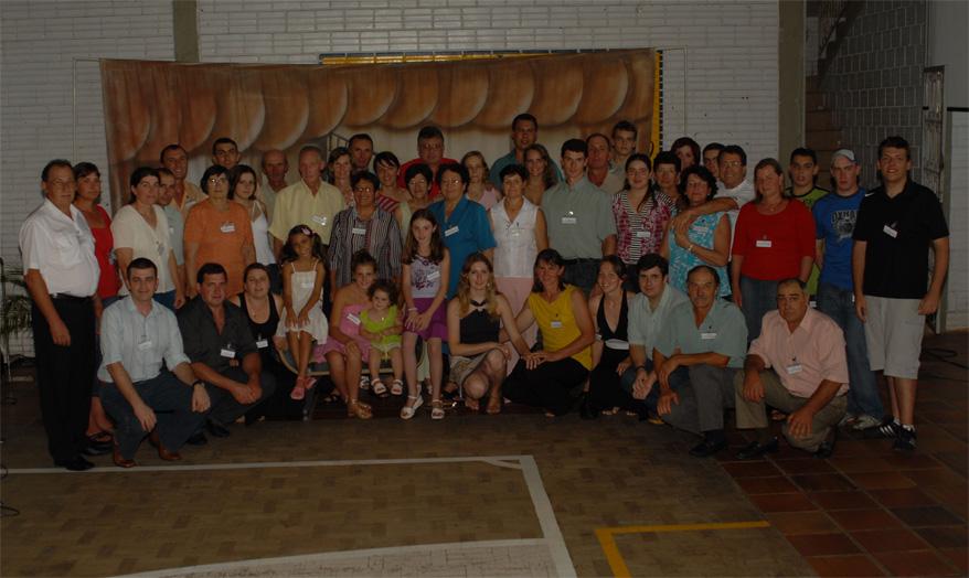 Família Elias Dametto. Primeiro Encontro da Família Dametto, dia 09/02/2007.