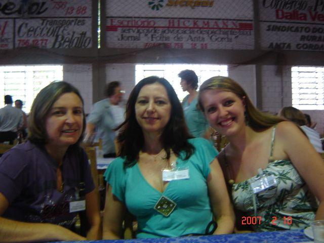Ilda Roversi, Assunta Dametto e Clarice Roling.