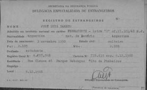 José Luiz Dametto - ficha 3