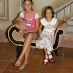 Laís e Maria Rita Dametto, filhas de Ernesto Dametto e Marilda Terezinha Rodrigues.