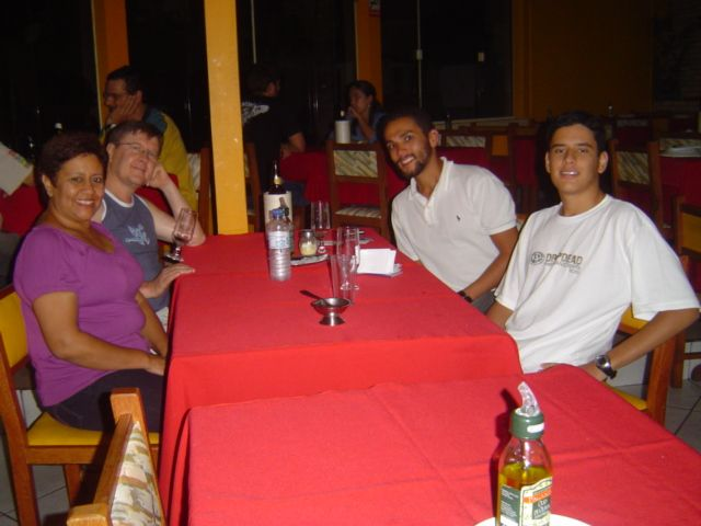 Maria Aquino, Francisco Dametto, André Luiz Dametto e William Aquino Dametto.