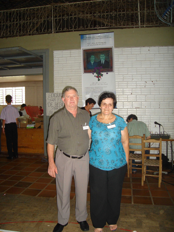 Danilo Dametto e Teresinha Oliari.