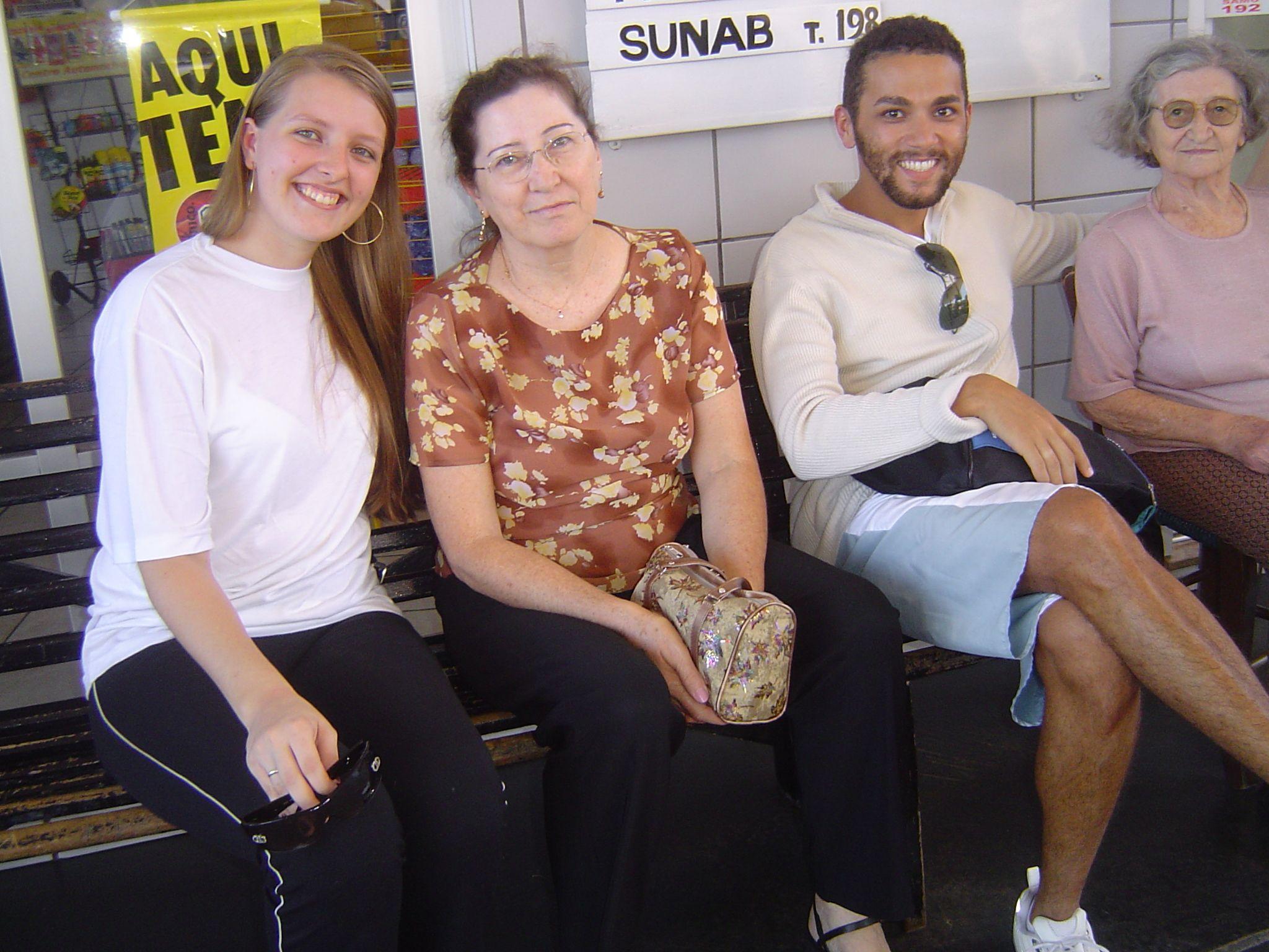 Clarice Roling, Elzira Dametto, André Luiz Dametto, Carmelinda Parisotto.