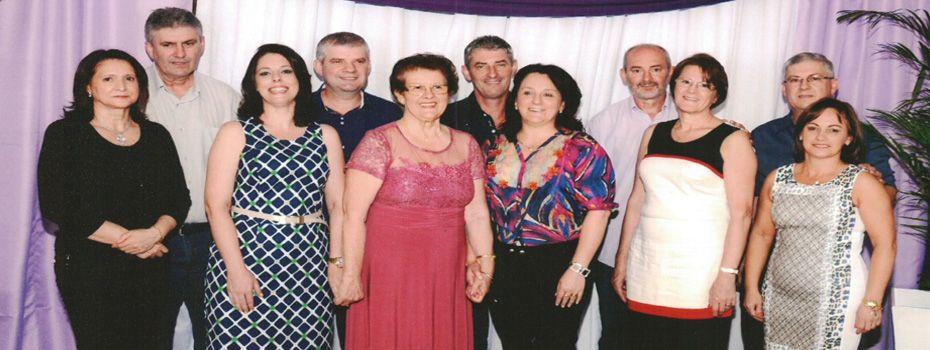 Família Elzirio e Maria Fontana Dametto.