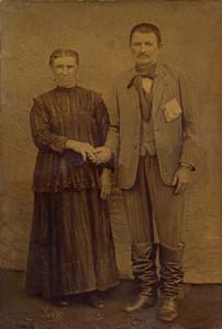 Orsolina Dametto e Domenico Parisotto.