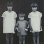 Maria de Lourdes, Sueli e Antonieta Dametto, filhas de Pedro Dametto e Dozolina Caselani.