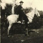 Adelino Dametto na Linha 12, Carlos Barbosa, c. 1945.