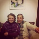 Casal Dalva Burigo e Alderico Alenor Steffani [Tito], neto de Magdalena Dametto Steffani.