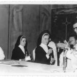 Irmã Amélia Dametto. Profissão Temporária, dia 2 de fevereiro de 1968, na Igreja São Pelegrino, Caxias do Sul – RS.