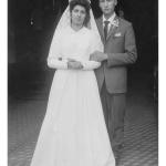 Ana Maria Andreolli e Jaime Fidélis Dametto. Casaram-se, em Anta Gorda - RS, no dia 25/01/1961.