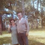 Amalia Mosena e Armando Dametto.