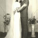 Artemio Dametto (*28/07/1943) e Rita Morello Dametto (*23/12/1939). Casamento em 27/01/1973.