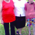 Irmãs Catarina, Amélia e Lourdes Dametto. Medianeira - Pr.