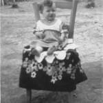 Catarina Dametto, Linha Quinta, Anta Gorda - RS, c. 1943.