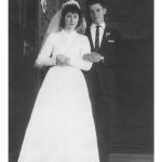 Catarina Dametto e Leonir Roversi. Casamento no dia 29/09/1962, em Anta Gorda - RS.