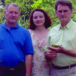 Danilo, Nair e Irio Dametto. Medianeira - Pr.