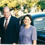 Delvo Baseggio e Maria Borgo.