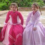 Prendas Eduarda e Melina Dametto, filhas de Joel Dametto e Ana Paula de Oliveira Dametto.