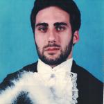 Eduardo Dalmagro Dametto – Formatura em Administração de Empresas, em julho de 2001.