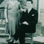 Elias Dametto e Tereza Cauzzi Dametto. Casaram-se, em Anta Gorda - RS, no dia 05/05/1934.