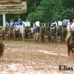 Elias Dametto em torneio de laço de Tapejara.