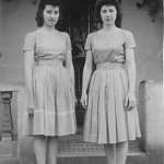 Elzira e Catarina Dametto. Anta Gorda - RS, c. 1959.