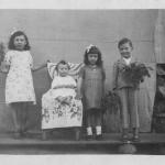 Maria Catarina, Jandira Bambina, Ana Antônia e Jaime Fidélis.