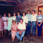 Família João Dametto. Casamento de Marizete Dametto e Valdeci Canello, em 08/02/1986.
