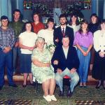 Família Oreste Dametto (no detalhe José Primo Dametto, falecido).