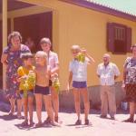 Familiares de Roberto e Orsolina Dametto na Linha Ouro Verde, Medianeira, Pr.