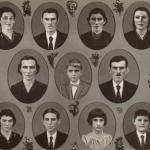 Família de Gentil Armando Dametto e Josefina Veronilda Gastaldo. No alto: Fiorentina Angelina, Dorvalino José, Nair Lourdes, Nilce; no meio: Wilson no meio dos pais; embaixo: Vilma, Sadi Divino, Nelci, Celso Ari.