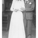 Lurdes Bettoni e Hermínio Dametto, casamento no dia 01/07/1959.