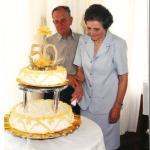 Ivo Baseggio e Cleudes Giacomin - 50 anos de casamento em 23/11/1999.