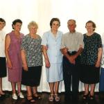 Ivo Baseggio, Cleudes Giacomin e cunhadas.