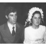 Jandir Andreolli e Ema Cecília Dametto, casamento no dia 28/09/1974.