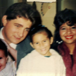 Família José Antonio Dametto, Rosana de Fátima Severo,  Carolina e Jéssica Severo Dametto.