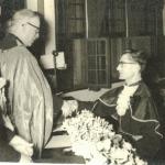 Lírio Antonio Dametto, formatura em Matemática na PUCRS, 1961.