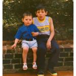 Irmãos Lucas e Tiago Valentim do Amarante Dametto.