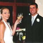 Andreia de Los Santos e Marcelo Dalmagro Dametto – casamento no dia 03/03/2006.