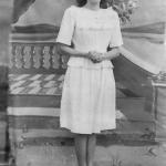 Maria Hermínia Teló [chamada Ermida], casada com Severino Dametto.