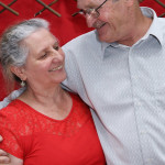 Maria Terezinha Dametto e Pedro Roling. 60 anos de Maria, 10/10/2015.