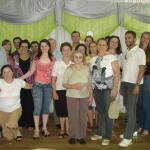 Família Victor Dametto reunida no Jubileu de Prata do Pe. Miguel Dametto, dia 10/02/2007.